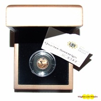 Gold Proof 1/4 Sovereign